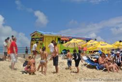 St Maarten Party Bus at Maho Beach.jpg