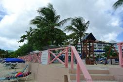 Royal Islander Club La Plage Resort Beach Access area at Maho Beach.jpg