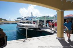 Black Phantom Water Taxi docked at cruise area of St Maarten.jpg